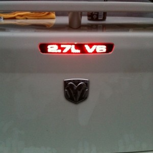Third Brake Light Cover!