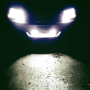 Supernova LED Headlights w/ LED lightbar