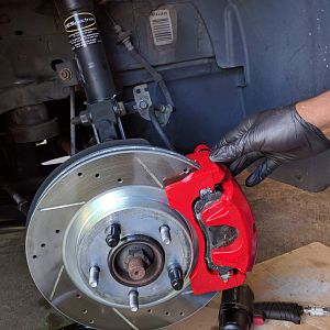 Powerstop calipers