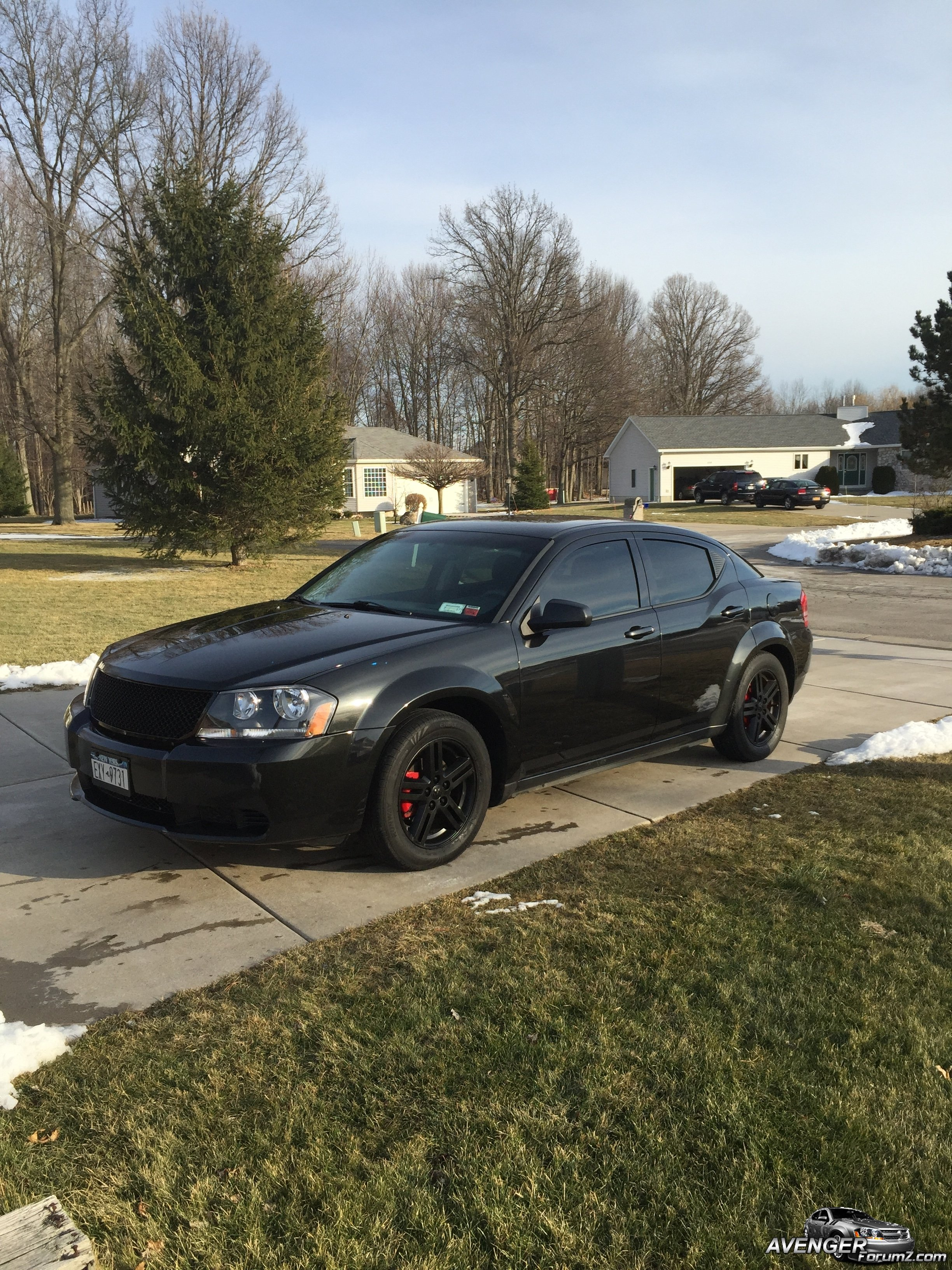 2008 Dodge Avenger Sxt Blacked Out Dodge Avenger Forum